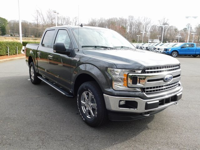2019 Magnetic Metallic Ford F-150 XLT Truck 4X4 Automatic EcoBoost 3.5L V6 GTDi DOHC 24V Twin Turbocharged Engine 4 Door