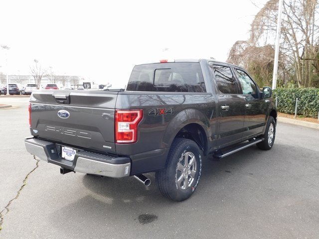 2019 Magnetic Metallic Ford F-150 XLT EcoBoost 3.5L V6 GTDi DOHC 24V Twin Turbocharged Engine Automatic Truck