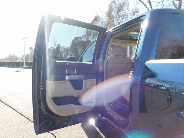 2019 Blue Ford F-150 Lariat EcoBoost 3.5L V6 GTDi DOHC 24V Twin Turbocharged Engine Truck 4 Door Automatic 4X4