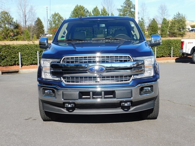 2019 Ford F-150 Lariat EcoBoost 3.5L V6 GTDi DOHC 24V Twin Turbocharged Engine 4 Door Truck Automatic