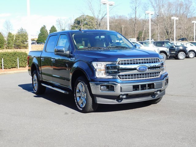2019 Ford F-150 Lariat 4 Door EcoBoost 3.5L V6 GTDi DOHC 24V Twin Turbocharged Engine 4X4 Truck