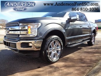 2019 Magnetic Metallic Ford F-150 Lariat 4 Door Automatic Truck 4X4 EcoBoost 3.5L V6 GTDi DOHC 24V Twin Turbocharged Engine