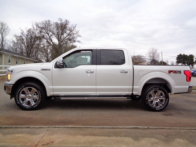 2019 White Metallic Ford F-150 Lariat 4X4 Truck Automatic