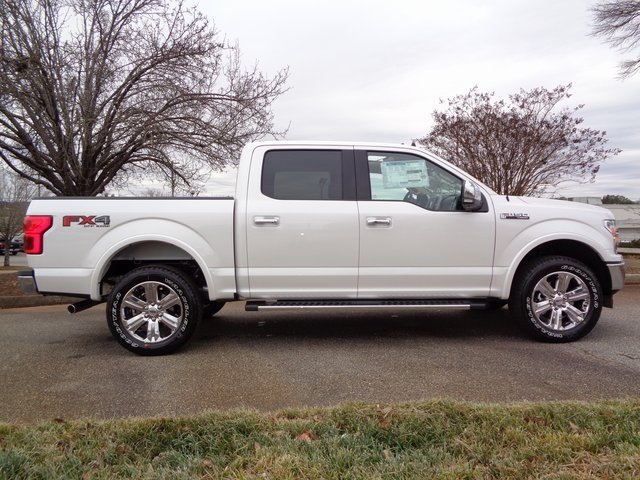 2019 Ford F-150 Lariat EcoBoost 3.5L V6 GTDi DOHC 24V Twin Turbocharged Engine 4 Door 4X4 Automatic