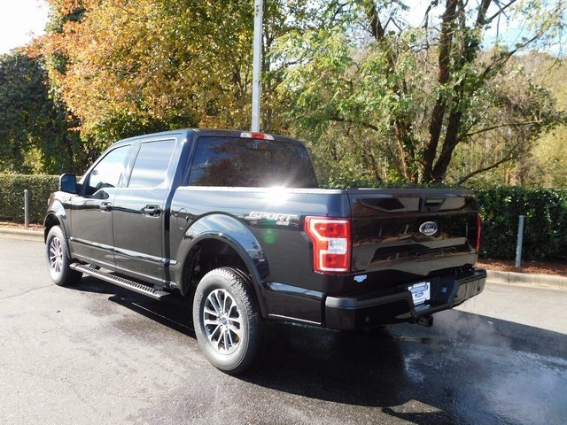 2018 Shadow Black Ford F-150 XLT Truck 4X4 Automatic 5.0L V8 Ti-VCT Engine