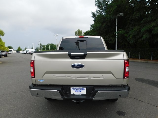 2018 White Gold Ford F-150 XLT Truck Automatic 5.0L V8 Ti-VCT Engine