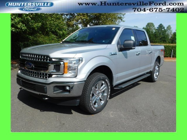 2018 Ingot Silver Metallic Ford F-150 XLT 5.0L V8 Ti-VCT Engine 4X4 Automatic 4 Door