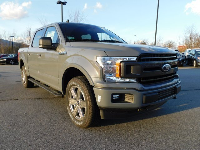 2019 Gray Metallic Ford F-150 XLT 4X4 5.0L V8 Ti-VCT Engine Truck 4 Door