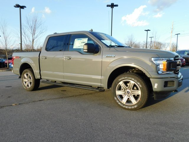 2019 Gray Metallic Ford F-150 XLT 4X4 5.0L V8 Ti-VCT Engine 4 Door