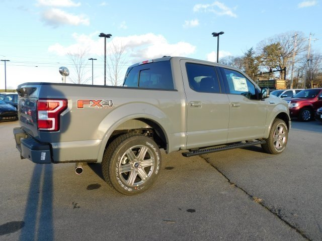 2019 Gray Metallic Ford F-150 XLT 4X4 5.0L V8 Ti-VCT Engine Automatic 4 Door