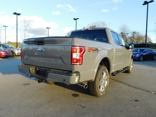 2019 Gray Metallic Ford F-150 XLT 5.0L V8 Ti-VCT Engine Truck 4X4