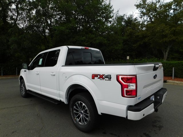 2018 Oxford White Ford F-150 XLT Truck 5.0L V8 Ti-VCT Engine 4X4 4 Door Automatic