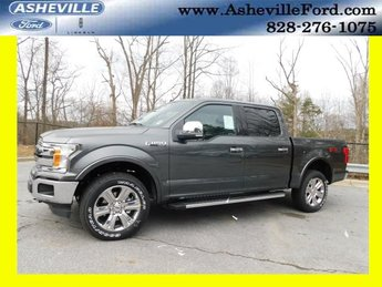 2019 Magnetic Metallic Ford F-150 Lariat 4X4 4 Door Truck 5.0L V8 Ti-VCT Engine Automatic