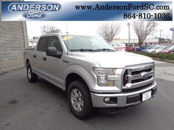 2016 Ingot Silver Metallic Ford F-150 XLT 4X4 4 Door Automatic