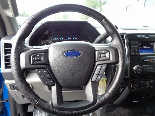 2016 Blue / Gray Ford F-150 XLT EcoBoost 3.5L V6 GTDi DOHC 24V Twin Turbocharged Engine Automatic 4 Door