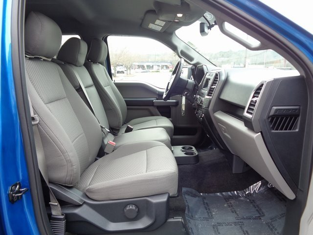 2016 Blue / Gray Ford F-150 XLT Automatic Truck 4 Door