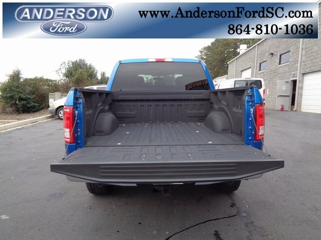 2016 Blue / Gray Ford F-150 XLT Automatic EcoBoost 3.5L V6 GTDi DOHC 24V Twin Turbocharged Engine 4X4 Truck