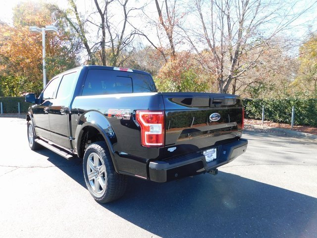 2018 Shadow Black Ford F-150 XLT Truck Automatic EcoBoost 3.5L V6 GTDi DOHC 24V Twin Turbocharged Engine 4X4 4 Door