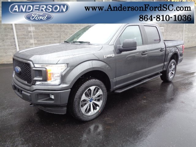 2019 Magnetic Metallic Ford F-150 XL Truck 4X4 EcoBoost 2.7L V6 GTDi DOHC 24V Twin Turbocharged Engine
