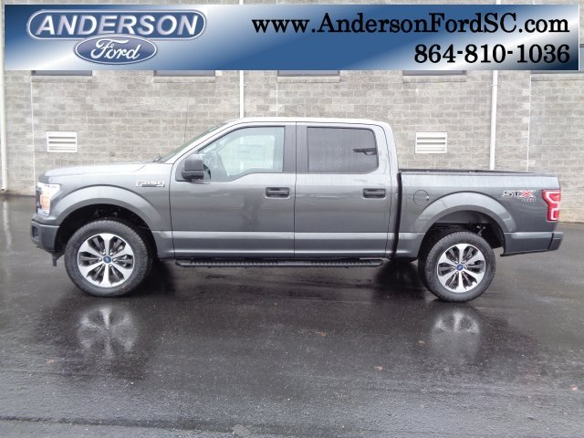 2019 Magnetic Metallic Ford F-150 XL EcoBoost 2.7L V6 GTDi DOHC 24V Twin Turbocharged Engine 4 Door Automatic