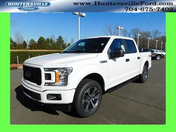 2019 Oxford White Ford F-150 XL Automatic 4 Door EcoBoost 2.7L V6 GTDi DOHC 24V Twin Turbocharged Engine Truck