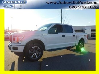2019 Oxford White Ford F-150 XL EcoBoost 2.7L V6 GTDi DOHC 24V Twin Turbocharged Engine Automatic 4 Door 4X4