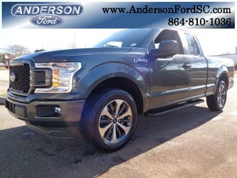 2019 Magnetic Metallic Ford F-150 XL Truck Automatic EcoBoost 2.7L V6 GTDi DOHC 24V Twin Turbocharged Engine RWD