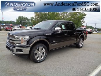 2018 Shadow Black Ford F-150 King Ranch 4 Door 3.0L Diesel Turbocharged Engine Automatic Truck 4X4
