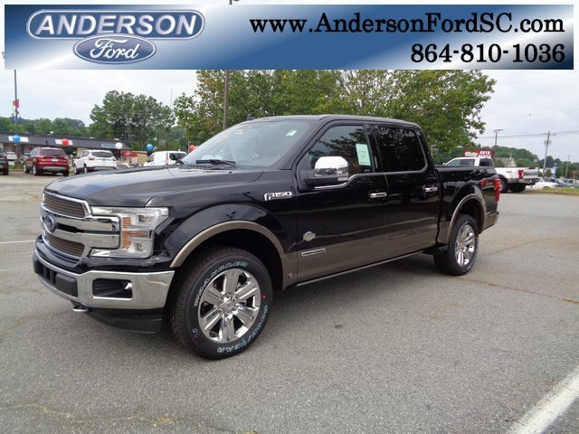 2018 Shadow Black Ford F-150 King Ranch 3.0L Diesel Turbocharged Engine Automatic Truck 4 Door 4X4