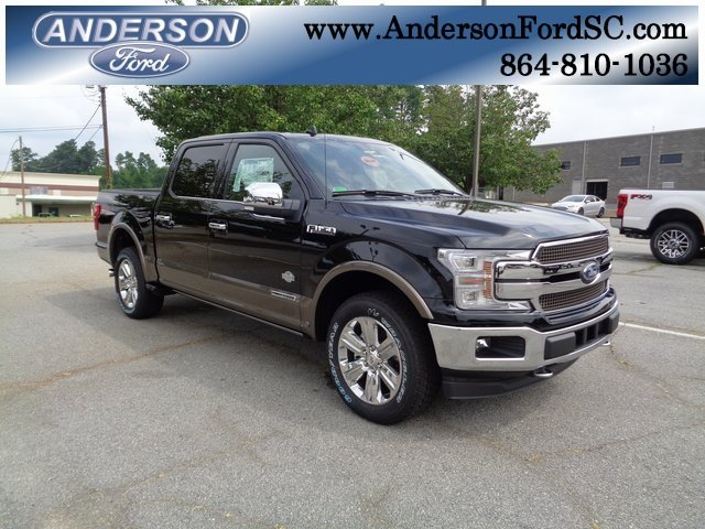 2018 Shadow Black Ford F-150 King Ranch 3.0L Diesel Turbocharged Engine 4 Door Automatic Truck