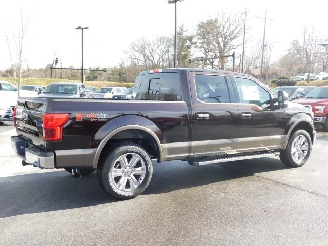 2018 Magma Red Metallic Ford F-150 Lariat Automatic Truck 4 Door 3.0L Diesel Turbocharged Engine 4X4