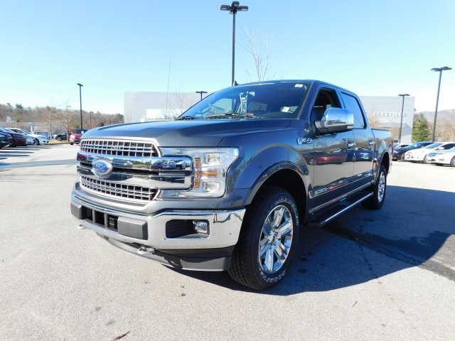 2018 Magnetic Metallic Ford F-150 Lariat 3.0L Diesel Turbocharged Engine 4X4 Truck Automatic