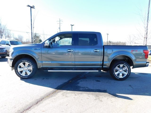 2018 Ford F-150 Lariat 3.0L Diesel Turbocharged Engine Automatic Truck 4X4 4 Door