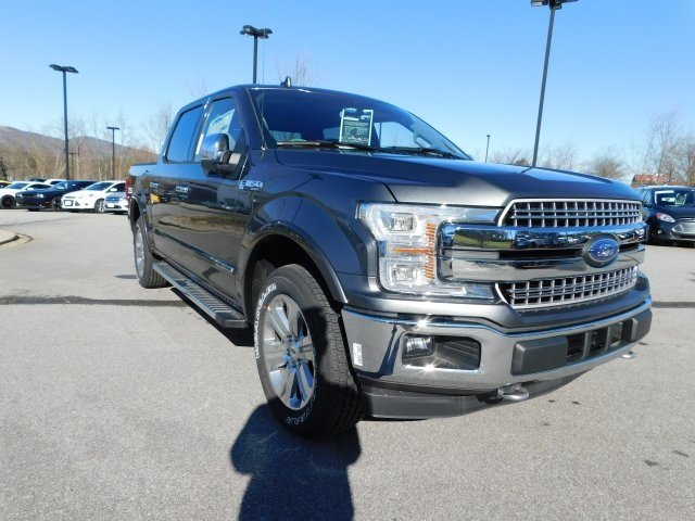 2018 Magnetic Metallic Ford F-150 Lariat 4 Door 4X4 Automatic 3.0L Diesel Turbocharged Engine Truck