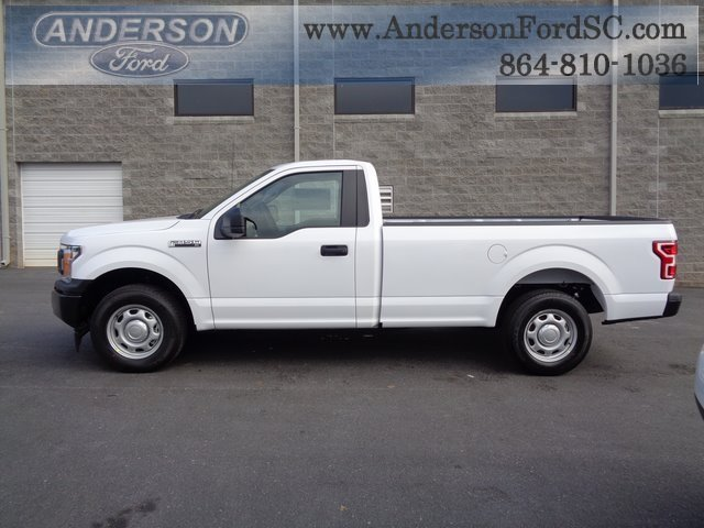 2018 Oxford White Ford F-150 XL Automatic 3.3L V6 Ti-VCT 24V Engine Truck 2 Door RWD