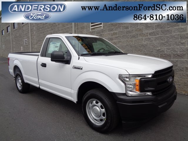2018 Oxford White Ford F-150 XL Truck RWD 2 Door Automatic 3.3L V6 Ti-VCT 24V Engine