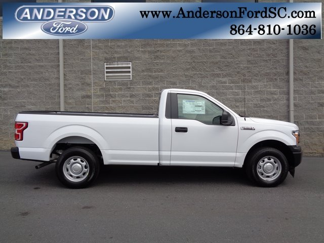 2018 Oxford White Ford F-150 XL RWD 2 Door 3.3L V6 Ti-VCT 24V Engine