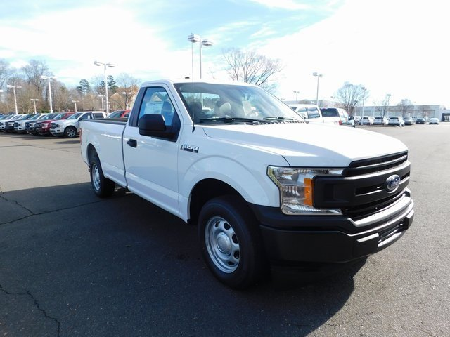 2018 Oxford White Ford F-150 XL 2 Door Automatic 3.3L V6 Ti-VCT 24V Engine