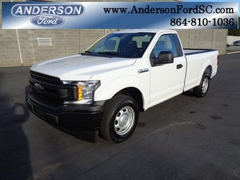 2018 Oxford White Ford F-150 XL RWD 2 Door Truck Automatic