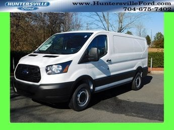 2019 Oxford White Ford Transit-250 Base 3.7L V6 Ti-VCT 24V Engine RWD Automatic