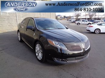2014 Lincoln MKS EcoBoost 4 Door EcoBoost 3.5L V6 GTDi DOHC 24V Twin Turbocharged Engine Automatic