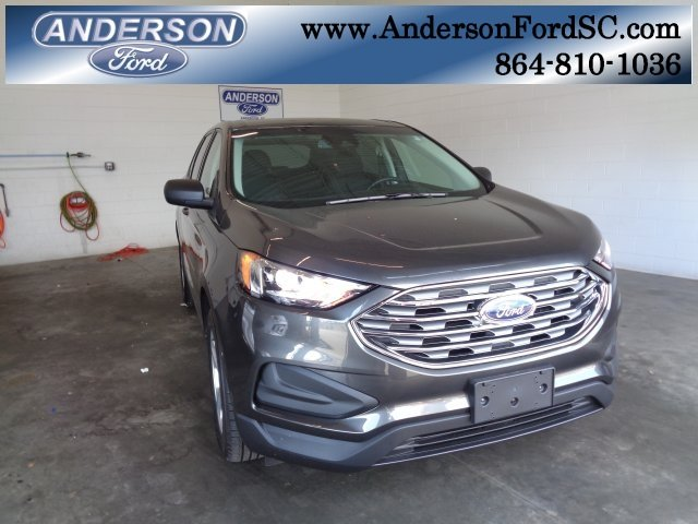 2019 Magnetic Metallic Ford Edge SE 4 Door SUV FWD
