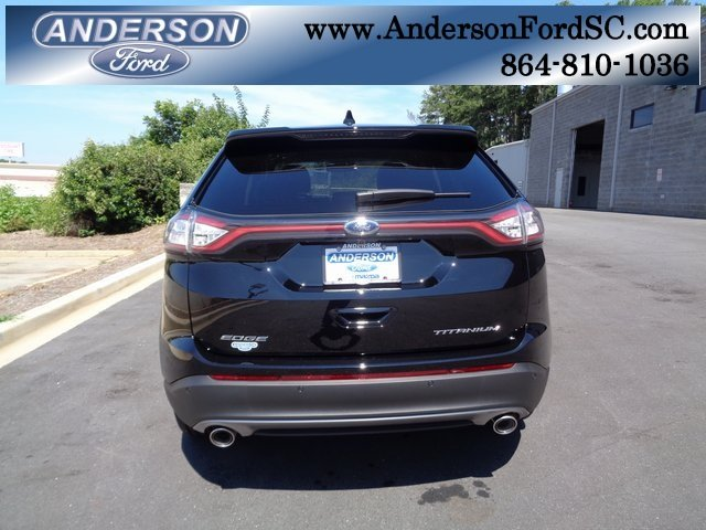 2018 Ford Edge Titanium FWD 4 Door Automatic SUV 3.5L V6 Ti-VCT Engine