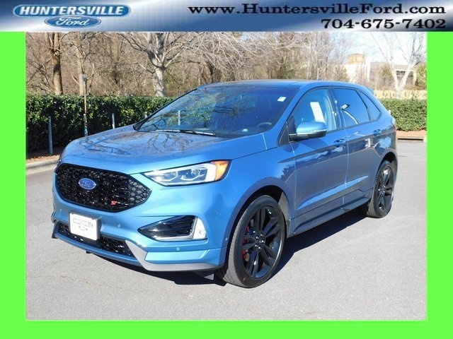2019 Ford Performance Blue Metallic Ford Edge ST 4 Door EcoBoost 2.7L V6 GTDi DOHC 24V Twin Turbocharged Engine AWD Automatic SUV