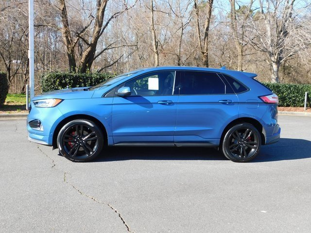 2019 Ford Performance Blue Metallic Ford Edge ST 4 Door SUV AWD