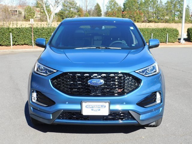 2019 Ford Performance Blue Metallic Ford Edge ST Automatic EcoBoost 2.7L V6 GTDi DOHC 24V Twin Turbocharged Engine 4 Door AWD SUV