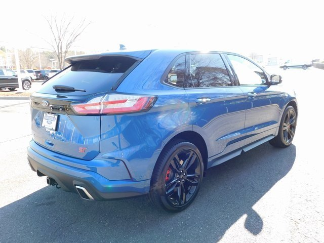 2019 Ford Performance Blue Metallic Ford Edge ST Automatic AWD 4 Door