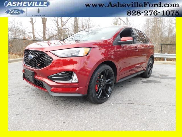 Ruby Red Metallic Tinted Clearcoat Ford Edge St Automatic Ecoboost  L V Gtdi Dohc