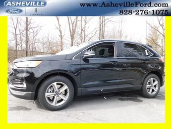 2019 Agate Black Metallic Ford Edge SEL Automatic 4 Door AWD