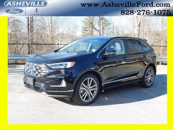 2019 Ford Edge Titanium 2.0L Engine SUV AWD
